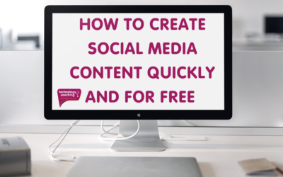 How To Create Social Media Content For Free
