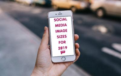 Social Media Image Sizes For 2019