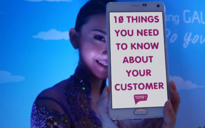 10 Things You Need To Know About Your Customer